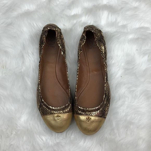 3bd093a33 39% off Tory Burch Shoes Womens Flats York Gold Sz 8